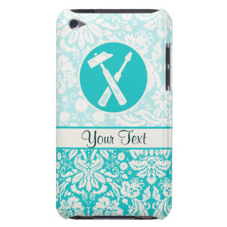 Teal Carpenter Tools iPod Touch Cases