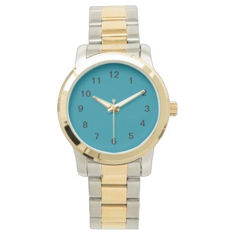 Teal Cat III Wristwatch