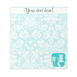 Teal Chemistry Memo Notepads