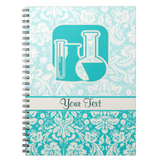Teal Chemistry Spiral Note Books