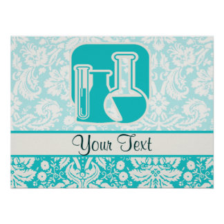 Teal Chemistry Posters