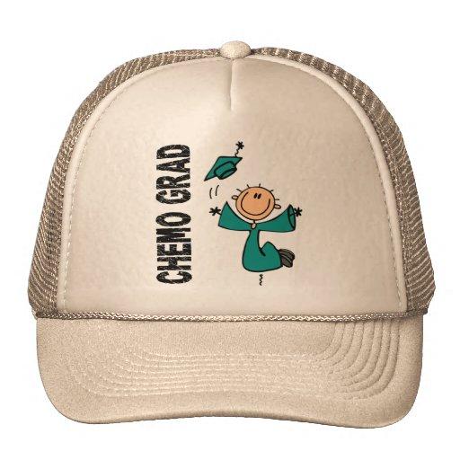 Teal CHEMO GRAD 1 (Ovarian Cancer) Trucker Hat