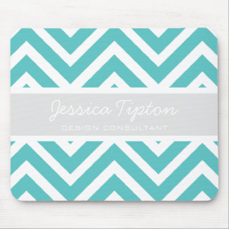 Teal Chevron Mousepad | TBM