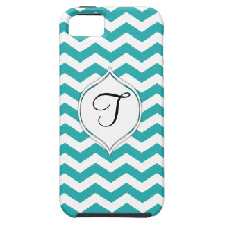 Teal Chevron With Customizable 2nd Color Case