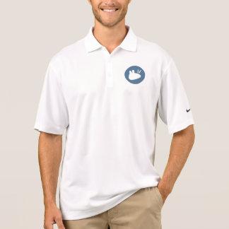 Teal circluar Xubuntu logo Polo Shirt