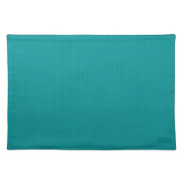 Teal Cloth Place Mat