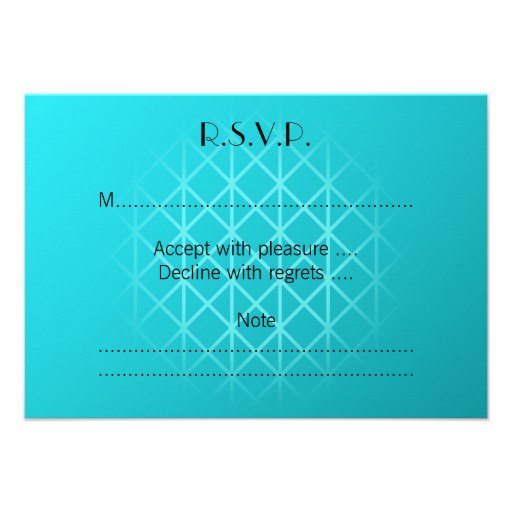 Teal Color Background Design with Grid Pattern. Invites