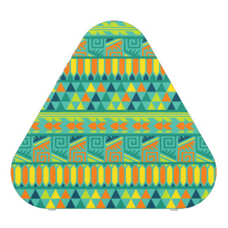Teal Colorful Abstract Aztec Tribal Print Pattern Speaker