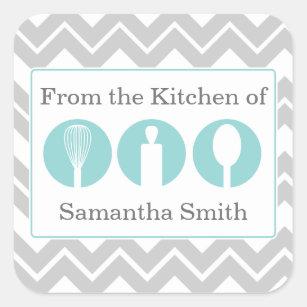 kitchen utensils stickers zazzle