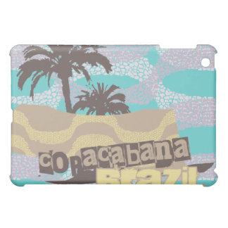 Teal Copacabana Brazil iPad Mini Cover