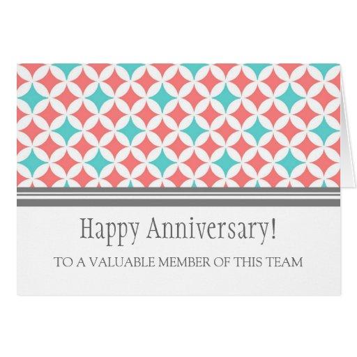 9 Year Work Anniversary 5 Year Work Anniversary Card