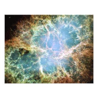 Teal Crab Nebula Custom Announcements