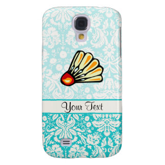 Teal Damask Badminton Galaxy S4 Cover