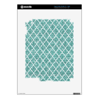 Teal Design IPad 2 Skin