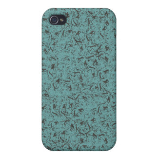 TEAL DESIGN iPhone 4/4S CASES