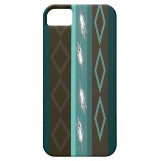 Teal Design iPhone 5 Case