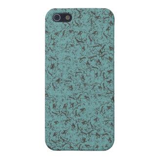 TEAL DESIGN iPhone SE/5/5s CASE