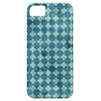 Teal Diamond iPhone Case iPhone 5 Cases