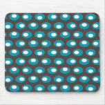 Teal Dots Mouse Pad