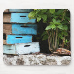 Teal Drawers Mouse Mats