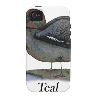 Teal duck, tony fernandes case for the iPhone 4