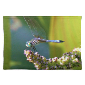 Teal eyed Dragonfly Placemat