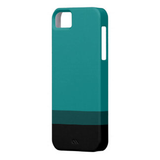 Teal Fade To Black Case iPhone 5 Covers