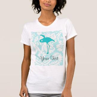 Teal Flamingo T-Shirt