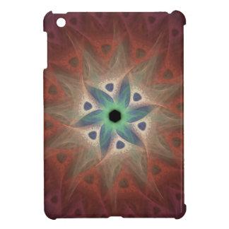 Teal Flower Fractal Case for iPad Mini iPad Mini Cover