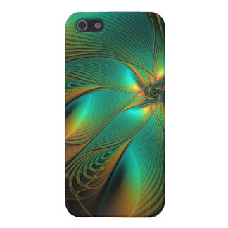 Teal Flower iPhone 4 Speck Case Cover For iPhone 5