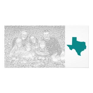 Teal for Texas Photo Card