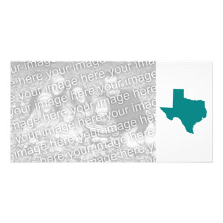 Teal for Texas Personalized Photo Card