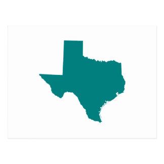 Teal for Texas Postcard