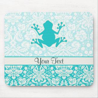 Teal Frog Mousepads