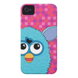 Teal Furby iPhone 4 Cases