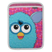 Teal Furby iPad Sleeve