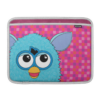 Teal Furby Sleeve For MacBook Air