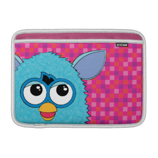 Teal Furby MacBook Air Sleeve