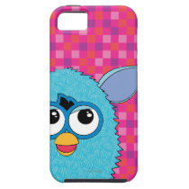 Teal Furby iPhone SE/5/5s Case