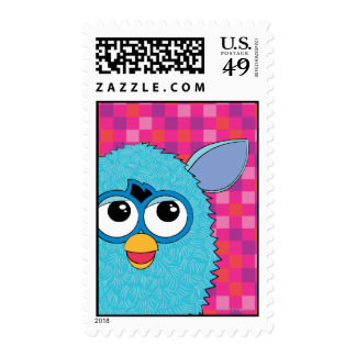 Teal Furby Stamps