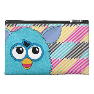 Teal Furby Travel Accessory Bags