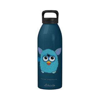Teal Furby Water Bottle