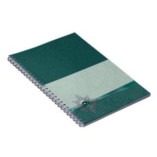 Teal Gem Journal Notebook
