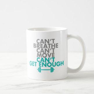 "Teal ""Get Enough"" Coffee Mug"