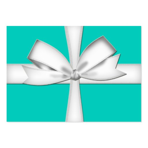 Teal gift card business card zazzle for Gift card for business