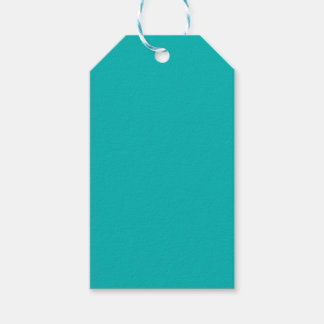 Teal Pack Of Gift Tags