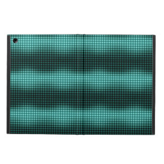 Teal Gingham Case Cover For iPad Air