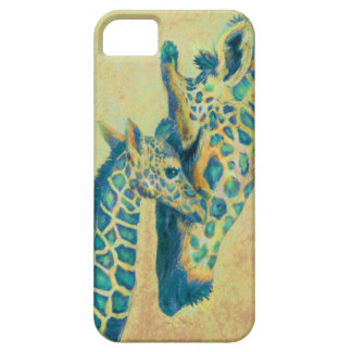 teal giraffes iphone case iPhone 5 cover