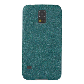 Teal Glimmer Cases For Galaxy S5
