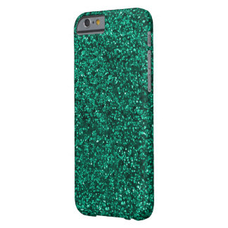 Teal Glitter I phone Case